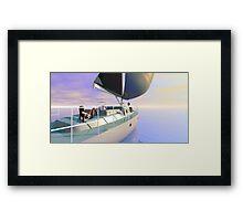 Sail away sail away...sail away Framed Print