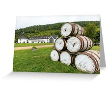Glenora Distillery Nova Scotia Greeting Card