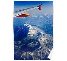 View of the French Alps Poster