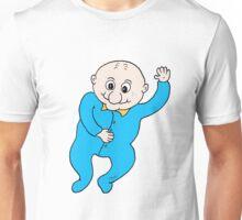 Hi Baby blue Unisex T-Shirt