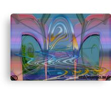 Motorway Rush Canvas Print
