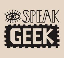 I Speak Geek by Andi Bird