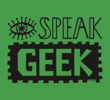 I Speak Geek Kids Clothes