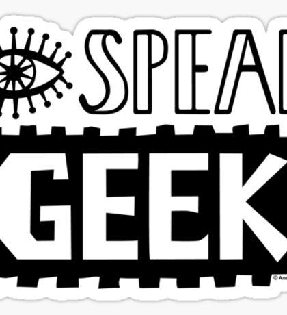 I Speak Geek Sticker
