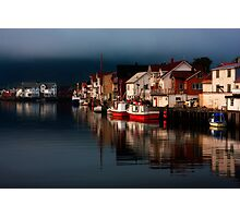 Henningsvaer. Lofoten Islands. Norway. Photographic Print