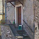 Sgurgola Door in Italy by Warren. A. Williams