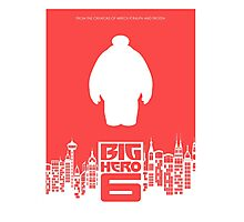 Custom Big Hero 6 Poster (2014) Photographic Print