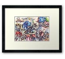 Dreamboat Express Framed Print