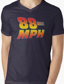 88MPH Mens V-Neck T-Shirt
