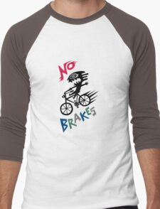 No Brakes Men's Baseball ¾ T-Shirt