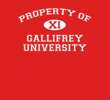 Property of Gallifrey University - 11th Doctor Unisex T-Shirt