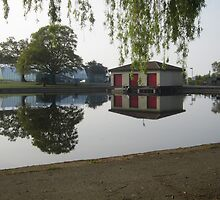 A Reflection in Eirias Park by Conor Gilmour