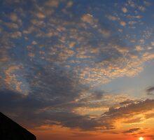 Cornwall: April Sunset at Trebarwith Strand by Rob Parsons