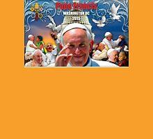 Pope Francis 2015 Wash DC Visit-Capitol building background Unisex T-Shirt