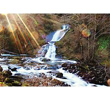 Sweet Creek Falls Photographic Print