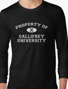 Property of Gallifrey University - 10th Doctor Long Sleeve T-Shirt