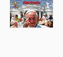 Pope Francis 2015 Wash DC Visit-White House background Unisex T-Shirt