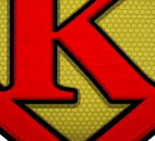 The Letter K Returns Sticker