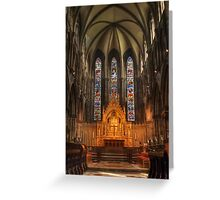 St Marys HDR Greeting Card