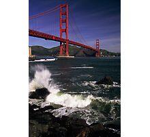 Golden Gate morning. Photographic Print