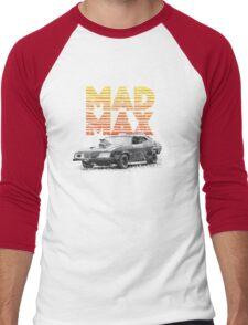 Mad Max Interceptor Men's Baseball ¾ T-Shirt