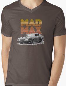 Mad Max Interceptor Mens V-Neck T-Shirt