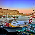 RHODES HARBOUR. ! by vaggypar