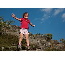 Jump, Owls Head, Adirondacks Photographic Print