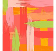 Abstract Grapefruit Photographic Print