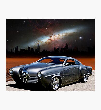 """1950 Studebaker, """"The Dark City Cruiser"""" Photographic Print"""