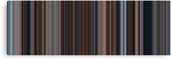 Moviebarcode: Eternal Sunshine of the Spotless Mind (2004) [Simplified Colors] by moviebarcode