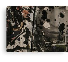 He Seeks For His Confident Profile Canvas Print