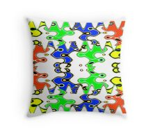 Abstract Design 185B Throw Pillow