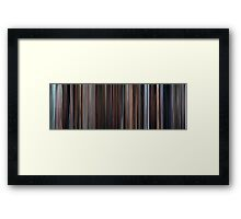 Moviebarcode: Eternal Sunshine of the Spotless Mind (2004) Framed Print