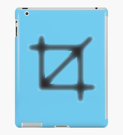 Crop Symbol iPad Case/Skin