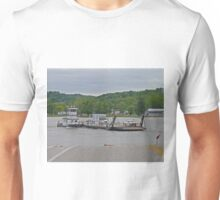 Illinois River Car Ferry, Campsville, Illinois, USA Unisex T-Shirt
