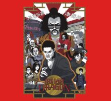The Last Dragon Glow Poster Shirt by agliarept