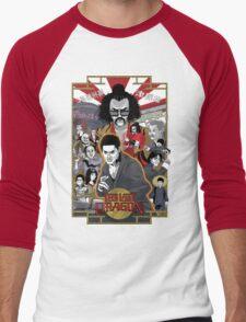 The Last Dragon Glow Poster Shirt Men's Baseball ¾ T-Shirt
