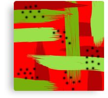 Abstract fruit Canvas Print