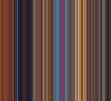 Moviebarcode: Toy Story 2 (1999) [Simplified Colors] by moviebarcode