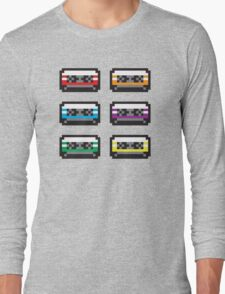PIXEL CASSETTES  Long Sleeve T-Shirt