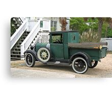 old truck in SC-another view Canvas Print