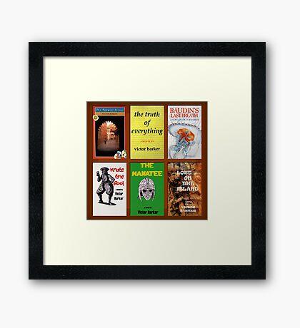 The Victor Barker Collection Framed Print
