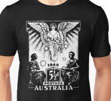 Australian 1945 Peace Stamp Unisex T-Shirt