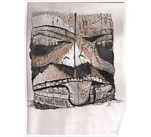 Haida Gwaii: Totem Detail Poster