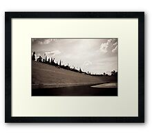Once Glorious Framed Print