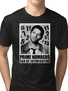 Prime Numbers are Intimidating Tri-blend T-Shirt