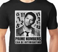 Prime Numbers are Intimidating Unisex T-Shirt