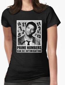 Prime Numbers are Intimidating Womens Fitted T-Shirt
