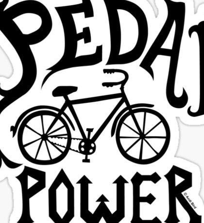 Pedal Power Sticker